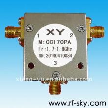 Isolateurs de micrsstrip de circulateur de fréquence de 2500W900MHz de puissance vers l'avant de 100W
