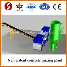 Hoe venda MD1200 Mobile Betão Batching Plant, concreto concreto móvel, planta de concreto móvel