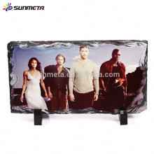 blank Rock Slate Photo Frame for sublimation printing made in china YiWu