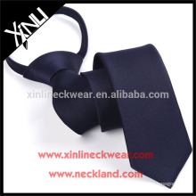 High Quality Polyester Woven Zipper School Tie