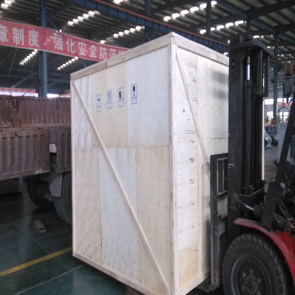 Rooftop Packaged Unit with Plywood Casing