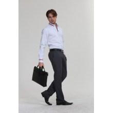 Men Business Suit Long Sleeve