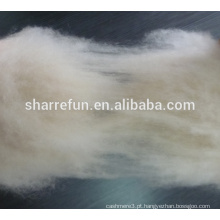 100% caxemira fibra marfim