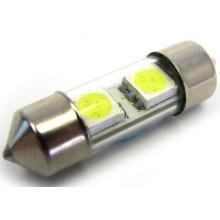 Blanc Canbus 12V 31mm 2SMD 5050 LED lumière automatique de voiture