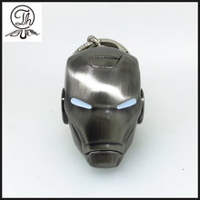 Antique design Iron Man helmet key rings