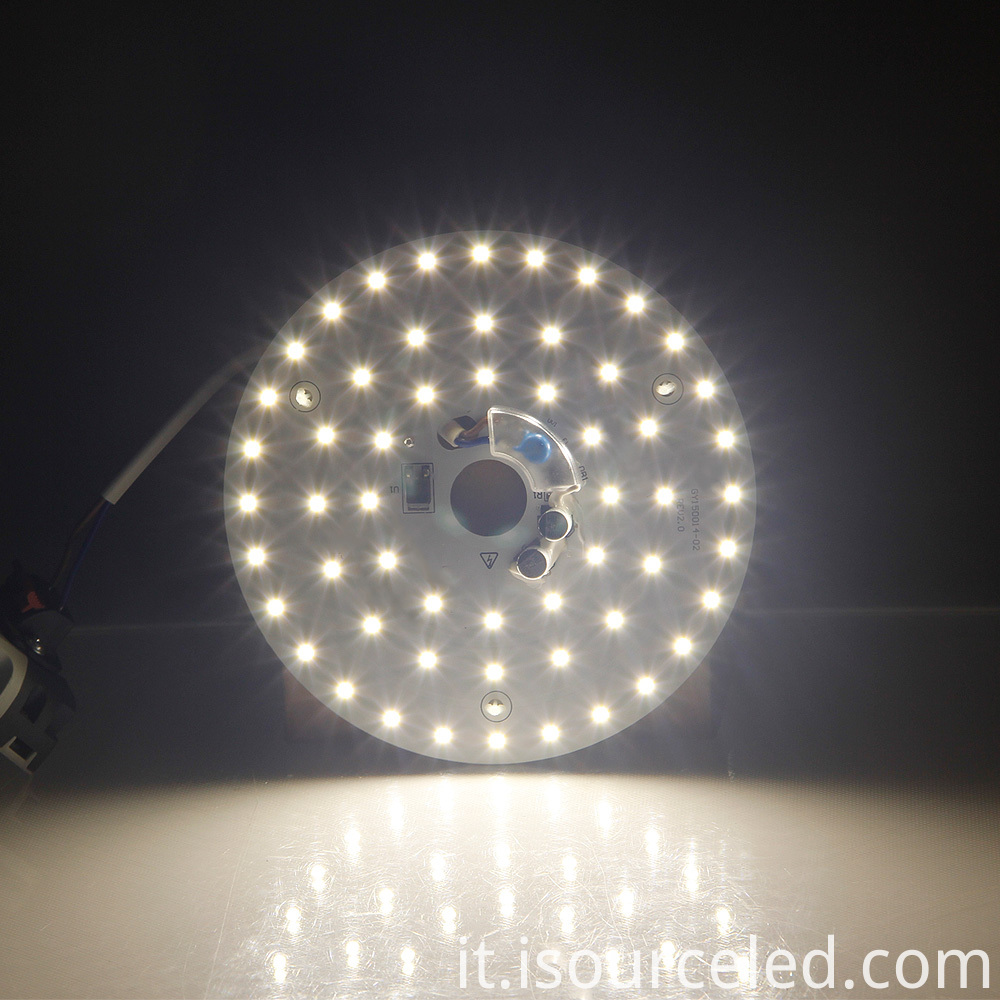 Luminescent Chart of SMD 2835 Warm white 15W AC LED Module