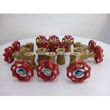 Brass rising stem gate valve with high quality