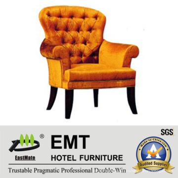 Удобный дизайн с деревянным креслом отеля (EMT-HC05)
