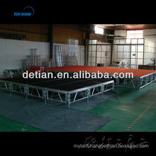 Outdoor concert stage aluminum stage triangle truss Outdoor concert stage aluminum stage triangle truss