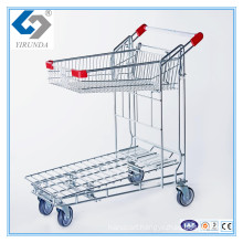 Foldablle Warehouse Cargo Trolley