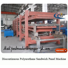 Discontinuous pu sandwich panel production line machine from allstar