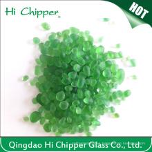 Cuentas de cristal decorativas de la piscina de color verde