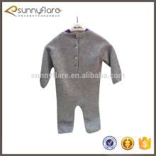 Mameluco 100% del suéter del bebé de la cachemira