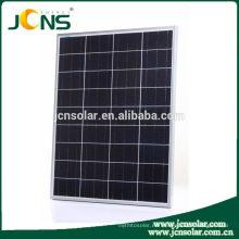 Stock China Fabricación de vidrio templado PV Panel Solar Precio India para uso doméstico