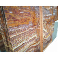 Brown Marble Slab Colorful Onyx Stone Natural