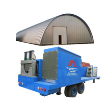 SX-ACM-914-650 hydraulic k arch roofing colored steel Equipment Maintenance Shop quick span machine tile making machinery