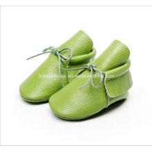 Europa Leder Fransen Baby Schuhe 03