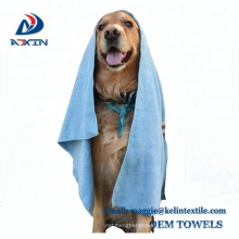 Microfiber Pet Bath Cloth Towels Quick Dry For Grooming Drying Cleaning Bathing Dogs And Cats - Ultimate Travel Blanket (Gray)