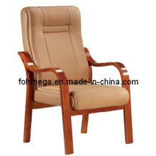 Chaise de salon en cuir bronzage en gros (FOH-F35)