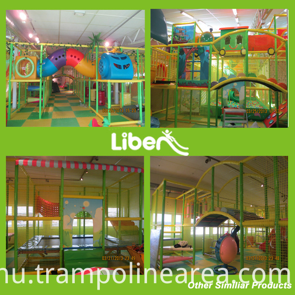Indoor Play with Slide Indoor Play with Trampoline Indoor Play with Barrier