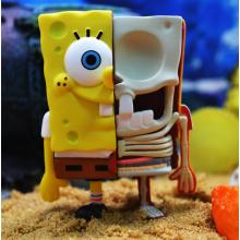 Bob Esponja Anatómico SquarePants Blind Box Toys Serie 1