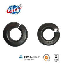Black Treated Spring Washer for Rail Fastening