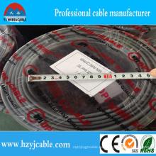 2 * 1mm2 Alambre plano del cable de la energía de la envoltura de la fábrica Venta caliente en mercado de Afrcia