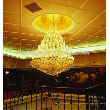 Lustre personnalisable d'hôtel, modèle peut être adapté aux besoins du client selon des conditions d'ingénierie