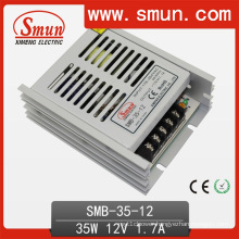 35W 12VDC 3A Ultra Thin Plastic Case Switching Power Supply