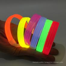glowing in dark bracelet wristbands