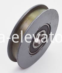 Hitachi Elevator Door Hanger Roller Flat Groove without Shaft 65*13*6202