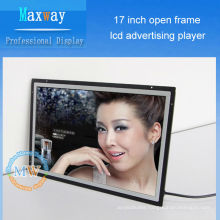open frame 17 inch lcd advertising player