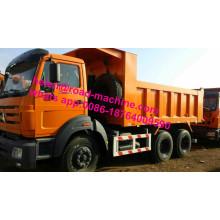 Camión volquete Beiben LHD de 30-50 toneladas de servicio pesado