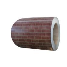 Chapa de aço na cor tijolo
