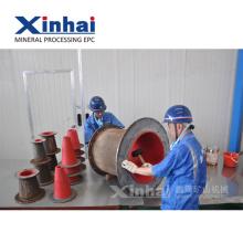 Abriebfestigkeits-Elastizitäts-industrielle Gummiprodukte für Zwischenlagen in der Bergbau-Umhüllungsgruppen-Einleitung