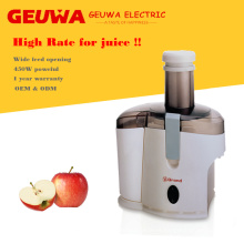 Guewa Wide Feed Opening Apple Juicer for Home Use