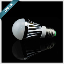 3W Aluminum Dimmable LED Bulb Lights