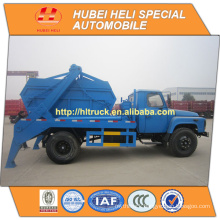 DONGFENG 4x2 6CBM garbage collecting truck recycling type with garbage container 140hp