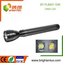 China Factory Metal Material Heavy Duty Long Range Distance mondes lampe de poche la plus lumineuse