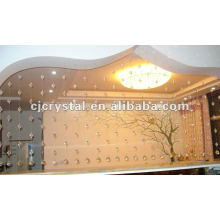 Cortina de puerta de cristal, cortina de puerta colgante cortina