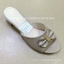 Новый стиль хорошее качество мода Женская обувь PU сандалии (JH160523-8)
