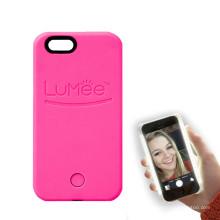 Handytasche mit LED Leuchten Gesicht Selfie