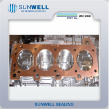 Прокладка выпускная медная Sunwell China