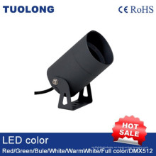 Luz de pared al aire libre redonda ligera IP65 de 3W LED hasta