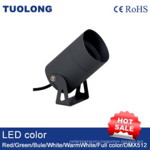 3W LED up Light Round Outdoor Wall Light IP65