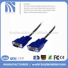 Câble VGA premium Câble VGA mâle à femelle pour moniteur CRT / LCD et téléviseur