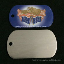 Custom Stainless Steel Offset Printing Military Dog Tag