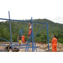 Durable Low Cost Prefab Haus mit einfachem Stahl Struktur Rahmen