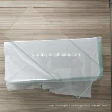 6.38mm - 40.3mm CE y ISO9001 pared de cortina templado vidrio laminado para el hogar