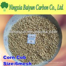 Mazorca de maíz para pulir / mazorca de maíz abrasivo